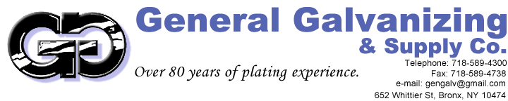 General Galvanizing & Supply Co. Logo